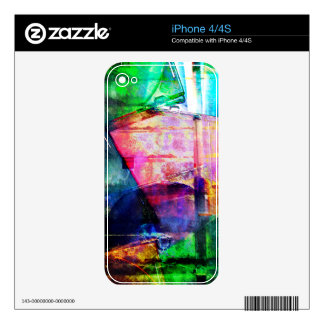 Colorful CD Cases Collage Decal For The iPhone 4S