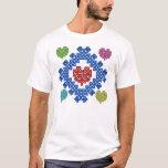 Colorful Celtic Hearts T-Shirt