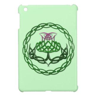 Colorful Celtic Knot Thistle iPad Mini Cases