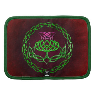Colorful Celtic Knot Thistle Planner