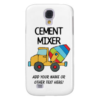 Colorful Cement Mixer Samsung S4 Case