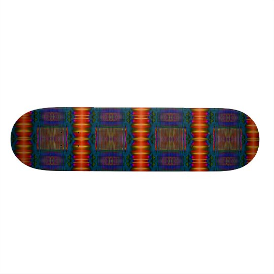 colorful center skateboard
