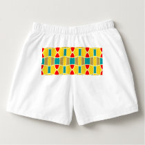 Colorful chains pattern boxers