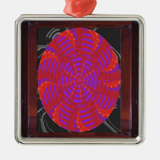 Colorful chakra energy wheel circle round gifts 99 ornament