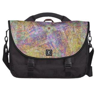 Colorful Chalk Laptop Commuter Bag