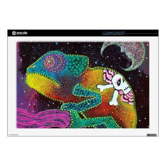 """Colorful Chameleon 17"""" Laptop Skins"""