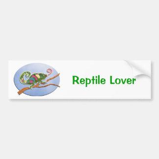 Colorful Chameleon Bumper Sticker