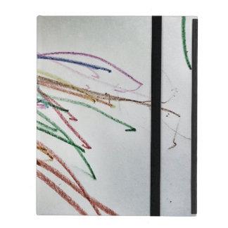 Colorful Chaos iPad Folio Cases