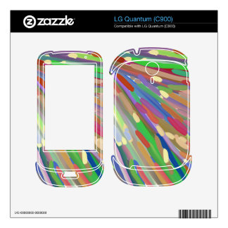 colorful chaos line skins for LG quantum