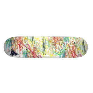 Colorful Chaos Skate Board Deck
