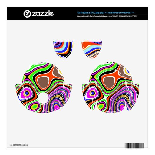 Colorful chaos turtle beach x41 skins
