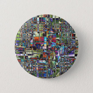 Colorful Chaotic Composite Button