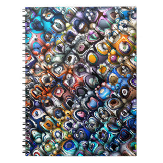 Colorful Chaotic Contours Notebook