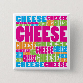 Colorful Cheese Button