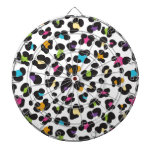 Colorful Cheetah Leopard Print Gifts for Teens Dartboards