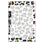 Colorful Cheetah Leopard Print Gifts for Teens Dry Erase Whiteboards