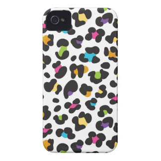 Colorful Cheetah Leopard Print Gifts for Teens iPhone 4 Case