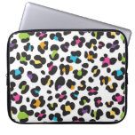Colorful Cheetah Leopard Print Gifts for Teens Laptop Computer Sleeve