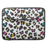 Colorful Cheetah Leopard Print Gifts for Teens Sleeve For MacBook Pro