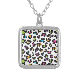Colorful Cheetah Leopard Print Gifts for Teens Pendant