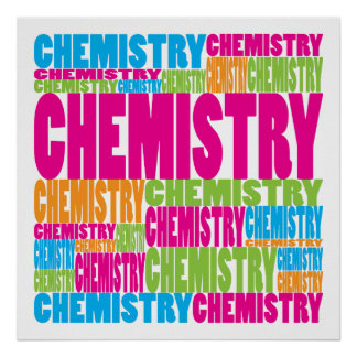 Colorful Chemistry Print