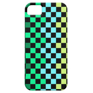 Colorful chessboard iPhone 5 cover