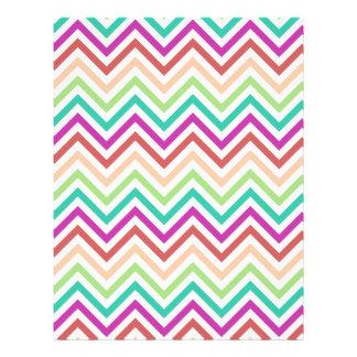 Colorful Chevron Letterhead