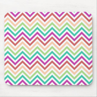 Colorful Chevron Mouse Pad