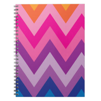 Colorful Chevron Notebook