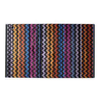 Colorful Chevron Pattern #10 iPad Folio Case