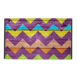 Colorful Chevron Pattern #2 iPad Case