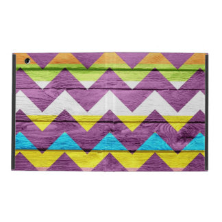 Colorful Chevron Pattern #3 iPad Cover