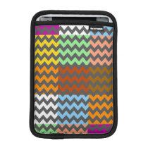 Colorful Chevron Pattern 6 iPad Mini Sleeve