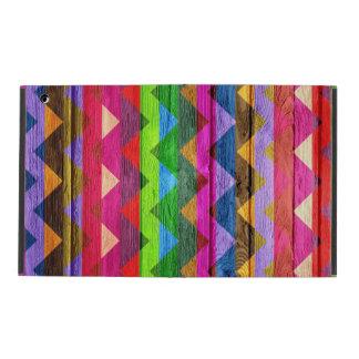 Colorful Chevron Pattern #7 iPad Cases