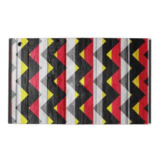 Colorful Chevron Pattern #8 iPad Case