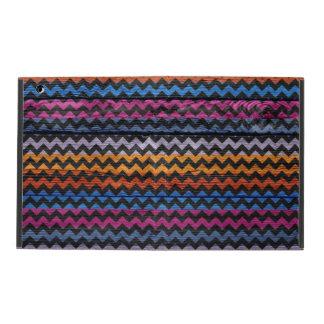 Colorful Chevron Pattern iPad Covers