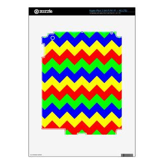 Colorful Chevron Pattern iPad 3 Skin