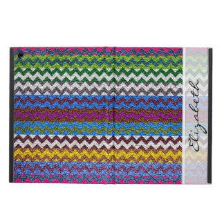 Colorful Chevron Stripes Pattern #11 iPad Air Cover