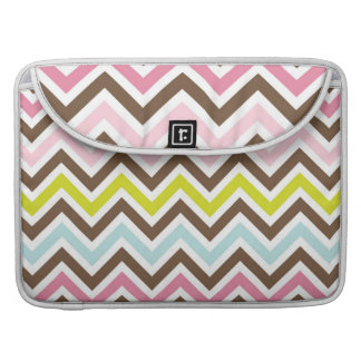 Colorful Chevron Stripes Sleeve For MacBook Pro
