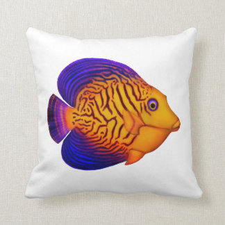 Colorful Chevron Tang Reef Fish Pillows