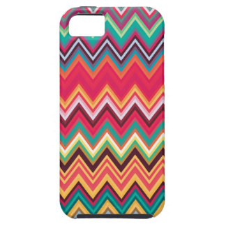Colorful Chevron Zig Zag Pattern iPhone SE/5/5s Case