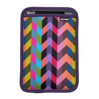 Colorful Chevron Zigzag Pattern 4 iPad Mini Sleeve