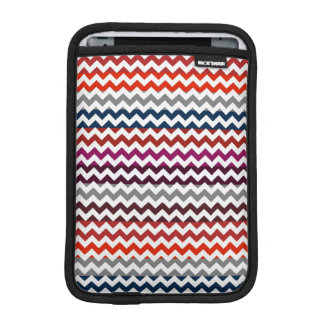 Colorful Chevron Zigzag Pattern 6 Sleeve For iPad Mini
