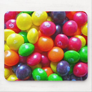 Colorful Chewy Candy Mouse Pad