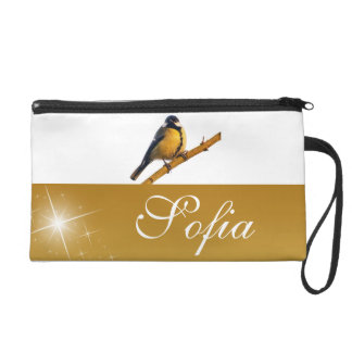 Colorful  Chic Classy Mod Tropical Wristlet