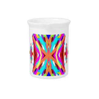 Colorful Chic Modern Tribal Pattern Pitchers