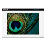 """Colorful Chic Photography Peacock Feather Skin Decal For 13"""" Laptop"""