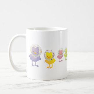 Colorful Chicks ! Classic White Coffee Mug