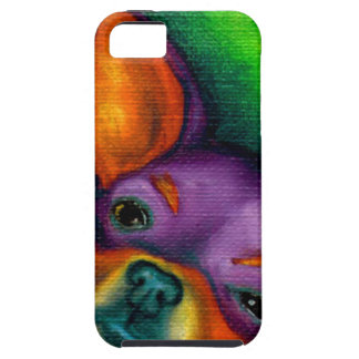 Colorful Chihuahua iPhone 5 Cases
