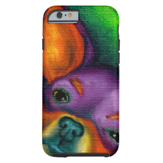 Colorful Chihuahua Tough iPhone 6 Case